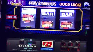 High Limit - Double Gold $50 Max Bet - Jackpot Handpay