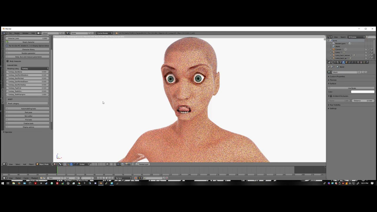 How To Use Manuel Bastioni Lab with Blender