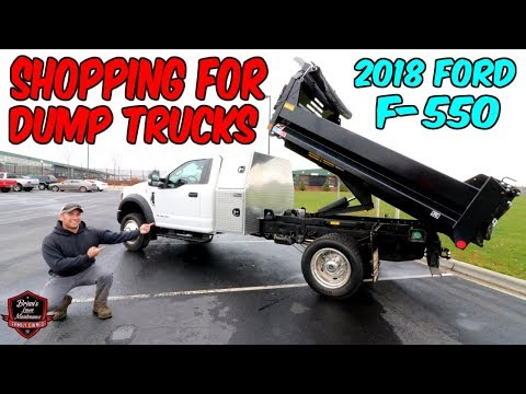 Brandon Goes Shopping For An F-550 Dump Truck ► But Will He Buy It? Truck Talk Tuesday!