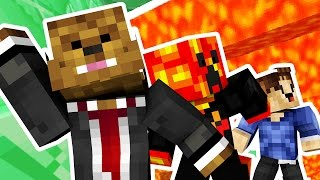 RUN FROM THE LAVA OR IT'LL KILL YOU!! w/ PRESTONPLAYZ, WOOFLESS, LANDONMC & JEROMEASF | JeromeASF