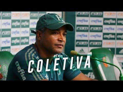 COLETIVA DO ROGER MACHADO - PALMEIRAS X INTERNACIONAL - BRASILEIRÃO 2018