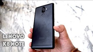 Lenovo K8 Note hands on review [UNBOXING, CAMERA, GAMING, BENCHMARKS]