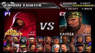 Def Jam Vendetta - Joe Budden VS Sketch
