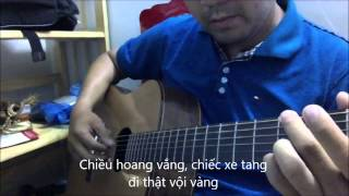 SAC MAU - Tran Tien [Guitar Solo] [K'K]