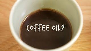 オイルの有無によるコーヒーの味くらべをしてみました!