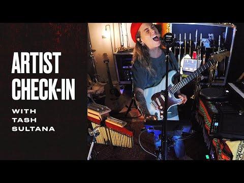 "Tash Sultana Performs ""Big Smoke""   Fender Artist Check-In   Fender"