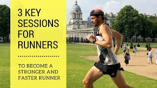 Ben Parkes - Three Sessions for Runners - Hill Repeats - Intervals - Strides - Get Quicker!