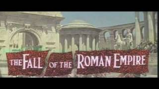 The Fall of The Roman Empire (1964) Trailer - Sophia Loren, Stephen Boyd, Alec Guinness