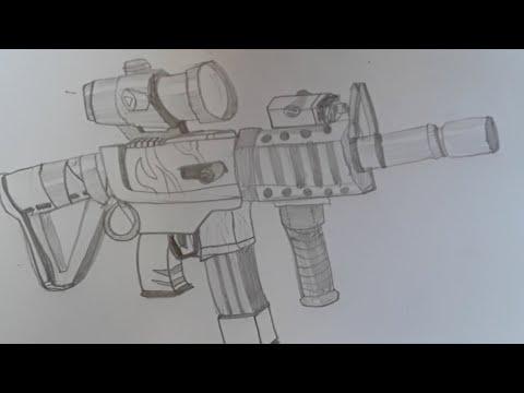 New Gun Fortnite Tekenen YouTube