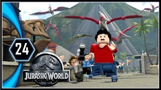 LEGO Jurassic World Gameplay PC - Pteranodon Attack [Part 24]