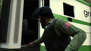GTA 5 - Final Heist Bank Job - The Big Score Subtle Approach