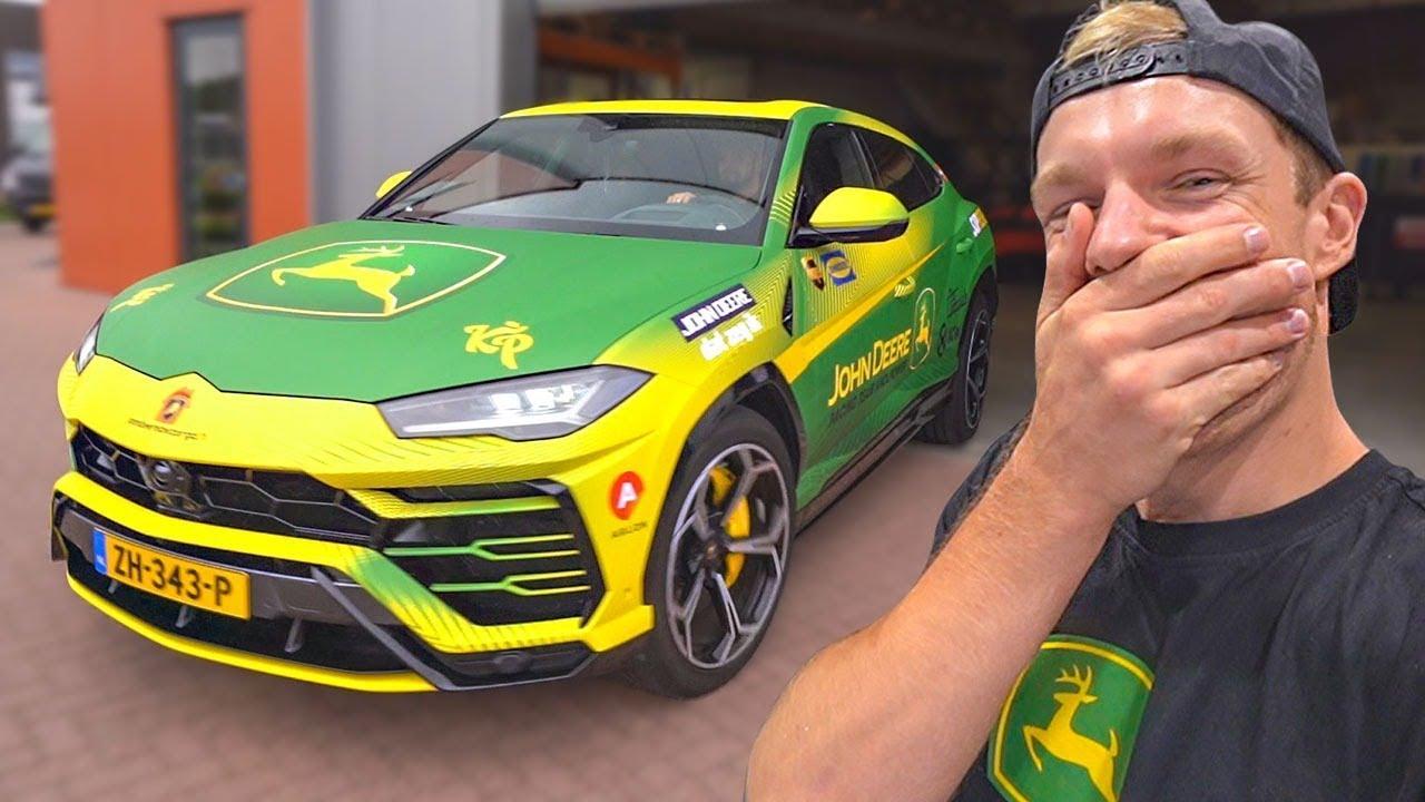 {Xcarwrapping & EnzoKnol - Lamborghini with SLX™ Cast Wrap}