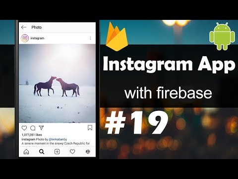 INSTAGRAM App with Firebase - Part 19 - List of Followers,Following,Likes -  Android Studio Tutorial