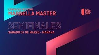 Semifinales Mañana - Cervezas Victoria Marbella Master 2020 - World Padel Tour