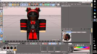 [How To] How to render a Roblox Character on Cinema 4D R17