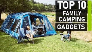 Top 10 Must Have Family Camping Gadgets Innovation