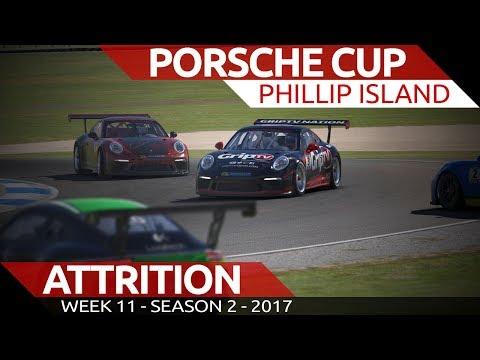 Battle of Attrition Porsche Cup @ Phillip Island iRacing