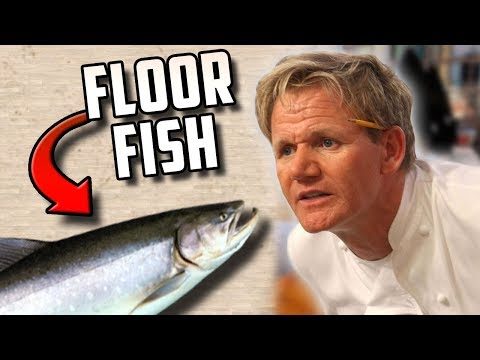 COOKING FOR GORDON RAMSAY