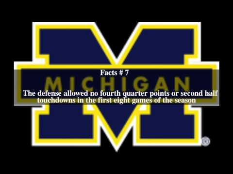 1997 Michigan Wolverines football team Top # 14 Facts