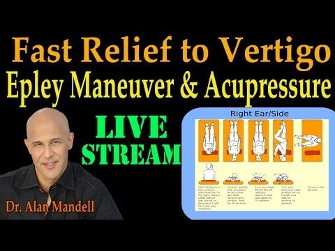 Fast Relief To Vertigo And Dizziness (Epley Maneuver U0026 Master Acupressure Points) - Dr Mandell