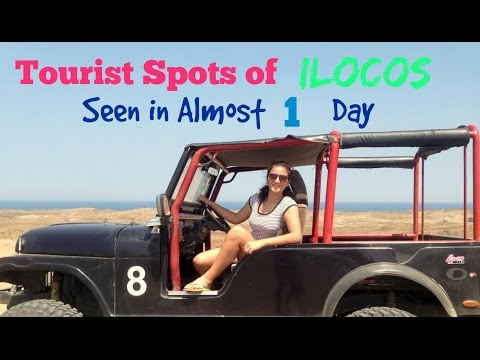 Tourist Spots of Ilocos Seen in Almost One Day