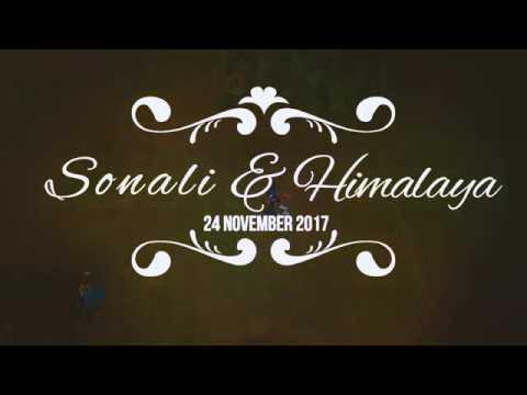 Sonali & Himalaya Pre Wedding for 24 November 2017