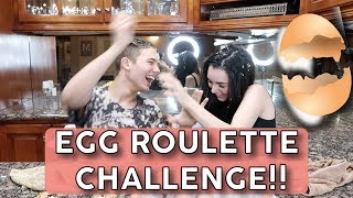 Egg roulette challenge....IT GETS MESSY!