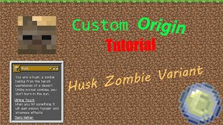 Tutorial: How To Mąke A Custom Zombie Origin   Husk Variant  