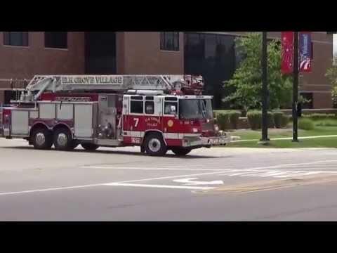 Fire units responding Elk Grove Truck 7 & Ambulance responding