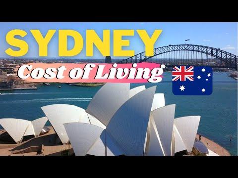Cost of Living in SYDNEY Australia