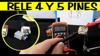 Hoe Test Relais (4 en 5 voeten) die niet in een Diagram of Nummers van de pin