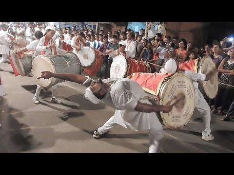 Parleswar Dhol Tasha Pathak,Maghi Ganpati Visrjan ,Bhandup (w)
