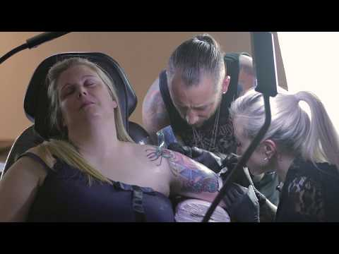 Ryan Smith & Jenna Kerr Interview - The Kaos Theory Project   Tattoo Artist Collaboration