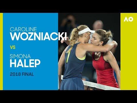 AO Classics: Caroline Wozniacki v Simona Halep (2018 F)