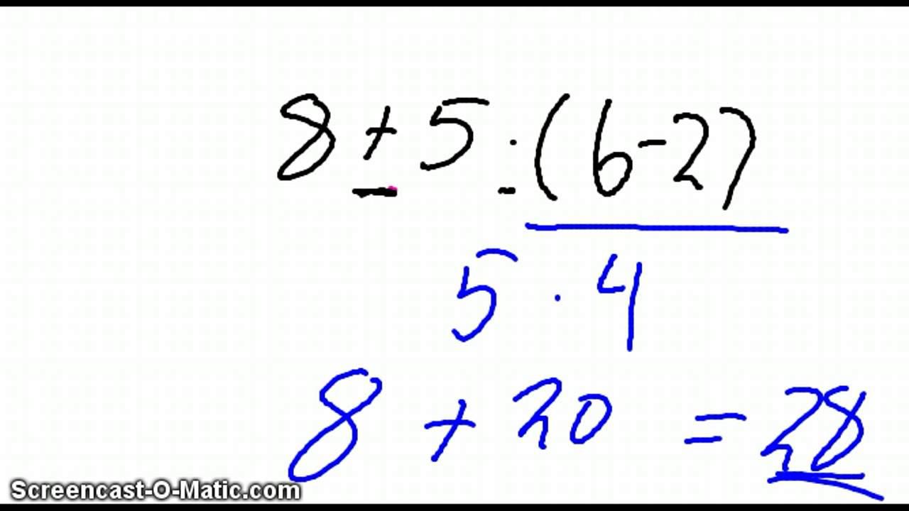 3 Eksempler Regnereglernes Hieraki