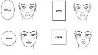 How to apply blush for your face shape/ Blush brushes