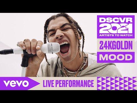 24kGoldn - Mood (Live) | Vevo DSCVR Artists to Watch 2021