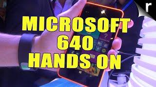 Microsoft Lumia 640 hands-on   MWC 2015