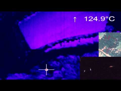 TurkUAV Thermo Termal Kamera Gece Görevi (UAV Thermal Camera Night Mission)