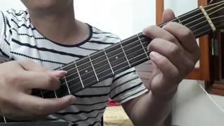 """Guitar hướng dẫn: Intro, đệm hát """"Ngày mai nắng lên anh sẽ về"""" - chạy Bass - ST: Anh Khang"""