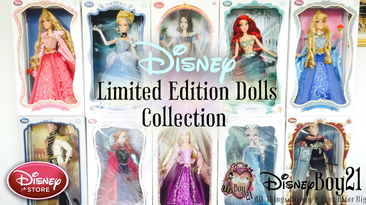 Disney Limited Edition Dolls Collection 2015 - Frozen Elsa ...