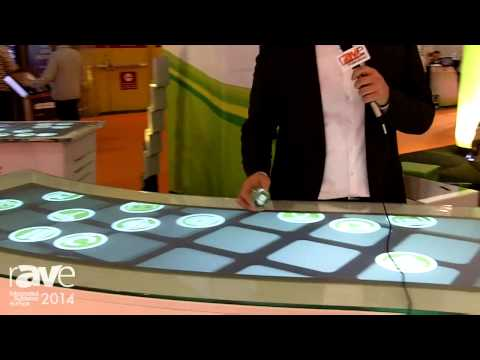 ISE 2014: Eyefactive Exhibits Large Multi-Touch Modular Screens, Can Be Integrated Into Furniture