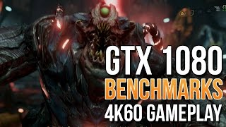 mSI GTX 1080 Benchmarks & 4K 60 FPS Gameplay! HOLY BALLS