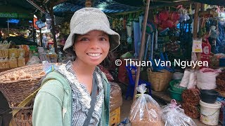 Laos || Pakse Market || Champasak Province