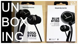 Beyerdynamic Soul BYRD Wired & Blue BYRD Wireless (Earbuds) - Unboxing - Poc Network