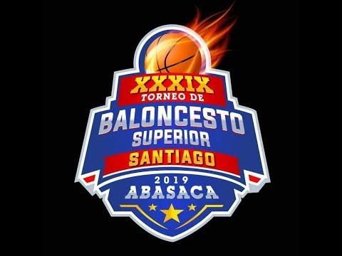XXXIX Torneo de Baloncesto Superior Santiago 2019 Abasaca. CDP VS CUPES