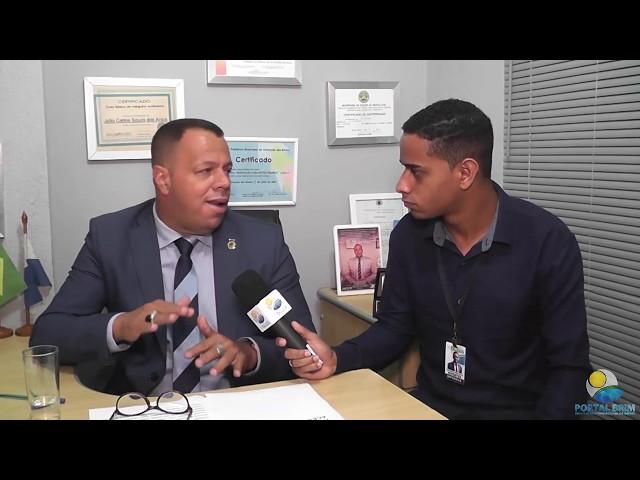 Vereador Dom de Búzios fala sobre a Lei Acessibilidade.