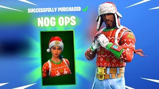 NOG OPS SKIN & YULETIDE RANGER SKIN - Fortnite Christmas Skins RETURN