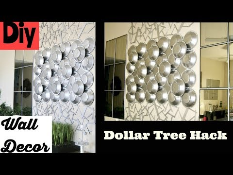 Diy Wall Decor Using Dollar Tree Items