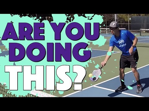 The #1 Beginner Pickleball Mistake Solved So That Your Dinks Stop Popping Up & Bouncing Too High